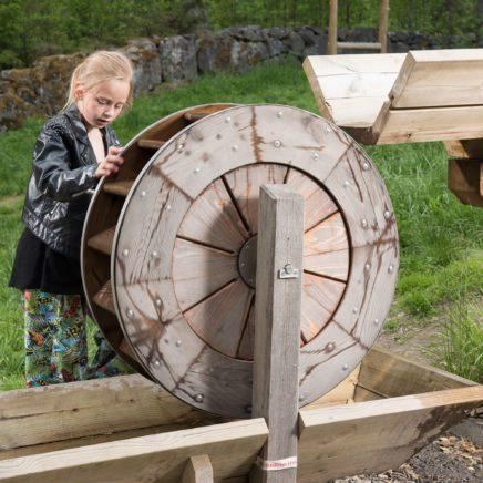 Fördämningar och vattenhjul
